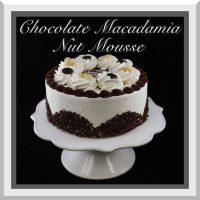 Chocolate Macadamia Nut Mousse Cake