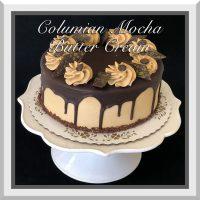 Columbian Mocha Butter Cream Cake