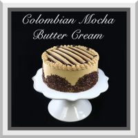 Colombian Mocha Butter Cream Cake
