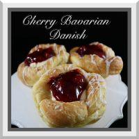 Cherry Bavarian Danish