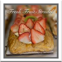 Fresh Fruit Strudel