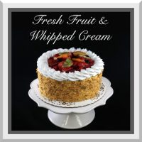 Fresh Fruit & Whipped Cream Cake