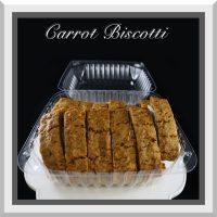 Carrot Biscotti