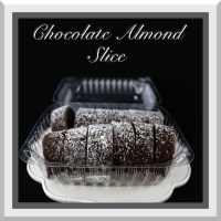 Chocolate Almond Slice