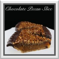 Chocolate Pecan Slice