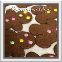Gingerbread Boys (Easter Colored Choc Gems)