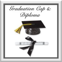 Add Graduation Cap & Diploma