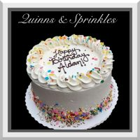 Birthday Cake Design - Quinns & Sprinkles