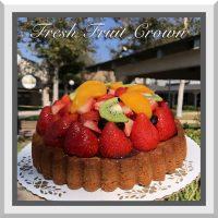 Fresh Fruit Crown